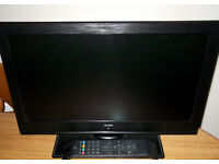 "19"" FLAT SCREEN LG TV with Freeview and Remote Control UNUSED IMMACULATE"