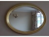 Lovely Oval Mirror For Sale