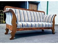 German biedermeier sofa cca 200 years old DELIVERY AVAILABLE