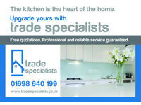 Looking for a new Kitchen? Look no further. Professional and Reliable.