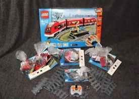 RARE! Lego City Electric Train and Station 7938