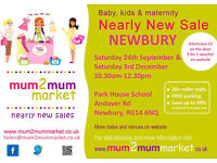 NEWBURY Mum2mum market baby & kids nearly new sale