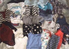 Boys clothes bundle age 3-6months