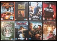New DVDs: Action Films (price per dvd)