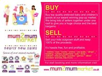 SELLERS WANTED! Mum2mum Nearly New Sales EXETER Pinhoe & Cranbrook sales coming up soon!