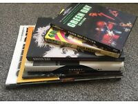 Green Day Fan Items. Books, Guitar Books and DVD's. Job Lot.