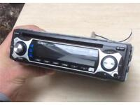 Car stereo Mutant Audio with AUX cd mp3 radio player