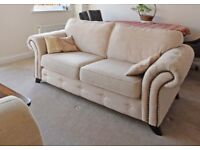 Sofa (2 seater) and 2 Chairs
