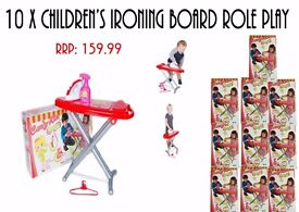 Wholesale Job Lot of Childrens Toys - Ironing Set + Accessories
