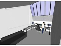 Recording/Music/Multimedia studio 6 month lease - Tottenham Marshes/ Tottenham Hale