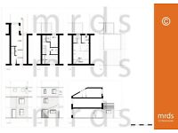 **OFFER** Architectural Services - Planning Drawings – Extension/Loft/Garage/Landscape/3d/CAD