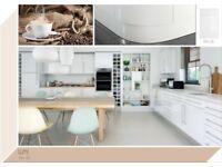 Stylish White Gloss Kitchen Only £1145