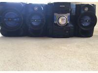 Philips 550 Watt Stereo System - AMAZING QUALITY! LOUD!!