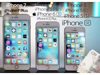 I Buy - Iphone 5, 5C, 5S, SE, 6, 6 Plus, 6S, 6S Plus, 7 and 7 Plus.