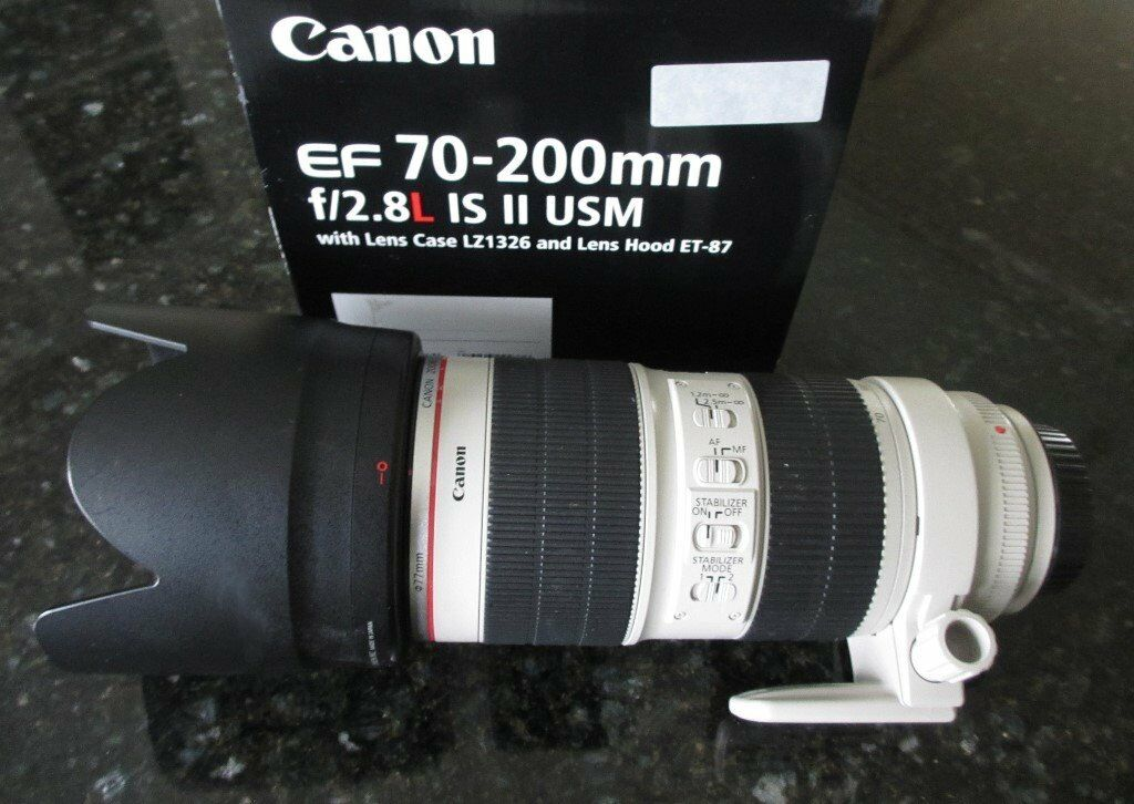 Canon L Series 70-200 F2.8 MK11 IS USM Lens