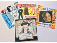 "CULTURE CLUB Lot 4 x 7"" Vinyl UK Singles PS - All Listed Graded Karma Chameleon"