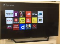 Sony Bravia 48 inches - Smart LED TV full HD 1080p with Freeview