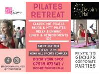 Pilates Retreat In Essex!