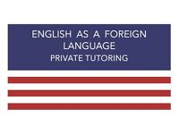 English As a Foreign Language - Private Tutoring