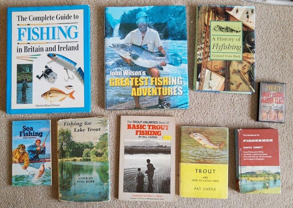 8 books on fishing