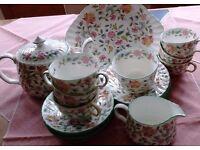 Haddon Hall Tea Service