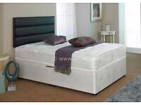 ░▒FREE DELiVERY ▒░ Single Divan Bed with Ortho Mattress-Double/Kingsize available