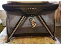 una Sena Large Travel Cot Black (£100) Tags still on! Like NEW!
