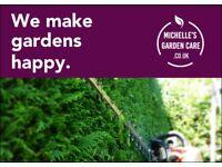Michelle's Garden Care - lawn mowing & garden maintenance services - Halesowen, Hagley, Stourbridge