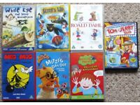 DVD's - Scooby Doo, Despicable Me, Tom and Jerry and more. £1 - £5