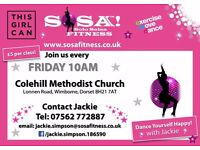 NEW SOSA DANCE FITNESS CLASS - COLEHILL METHODIST CHURCH