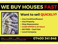***** WE BUY HOUSES ***** Any Condition - Any Reason - Negative Equity - CASH OFFER IN 24 HOURS!