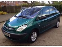 Citroen Xsara Picasso 1.8 Litre SX Estate. 9 months MOT and full service history in nice condition