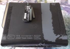 Microsoft xbox 360 black, Limited Edition, Call of Duty, MW2, 120gB hard drive