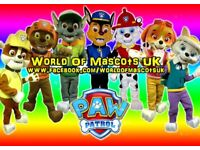 Kids Party MASCOT CHARACTER Visits - Paw Patrol PJ Masks Shopkins Peppa Pig Ninja Turtles Frozen