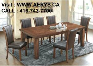 WHOLESALE FURNITURE WAREHOUSE  LOWEST PRICE  WWW.AERYS.CA dinette set starts from $229