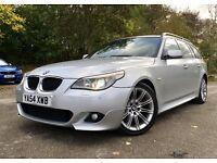 *** RARE *** 2004 BMW 525d M SPORT TOURING, AUTOMATIC, 12 MONTHS MOT, FSH, PAN ROOF, SAT NAV, CHEAP