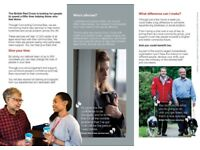 Volunteering Opportunities at The British Red Cross