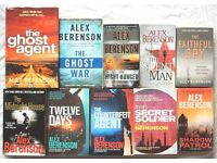COLLECTION OF 10 JOHN WELLS Novels By Alex Berenson, First 10 Books, Great Reading, BARGAIN