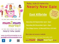Nearly New Sale - Baby and Kids Items (Mum2mum Market)