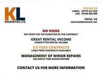 ATTENTION LANDLORDS, DO YOU WANT, NO VOIDS 2-5 YEAR CONTRACT, GREAT RENTAL INCOME
