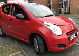 2012 Red SUZUKI Alto 1.L Petrol, Low Milage (24000)--Perfect City Car!!!