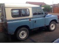 Land Rover Series 1970 SWB 2.3 diesel