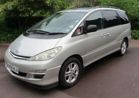 Toyota Previa D4D 2.0 Diesel 7 Seater Genuine 119,875 Miles And Full Toyota Dealer Service History