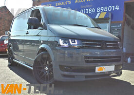 Calibre Exile 20″ Alloy Wheels Matte Black fit VW Transporter T5