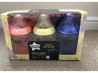 Tommee Tippee Colour my world pack of 6 bottles