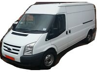 LWB Transit Van for all your needs. Best Prices. 24/7 Man with a Van