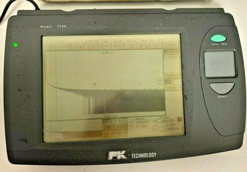 PK Technology OTDR Tester w/ power adapter Model 7500