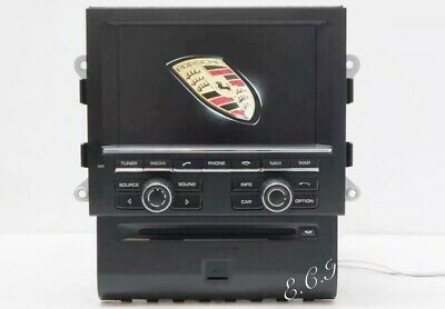 EUROPE MIDEAST OEM GENUINE Porsche Macan S Turbo PCM3.1 US HDD Navigation Radio