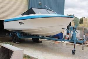 Baron fiberglass boat, with 70hp Evinrude Perth Perth City Area Preview