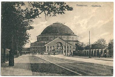 Alte AK Postkarte Deutschland Hannover 1917 gelaufen  mit Briefmarke